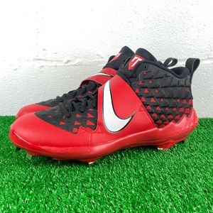 Nike Zoom Trout 6 Mid Metal Baseball Cleats